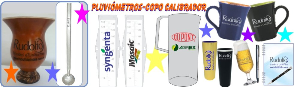 Banner Pluviômetros